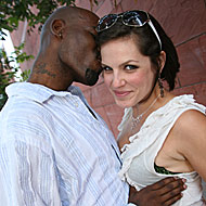 Hairy brunette Bobbi Starr does anal with a hung black stallion from Blacks on Blondes