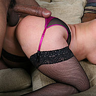 MILF pornstar Flower Tucci gets drilled by a hung black from Blacks on Blondes
