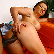 Busty Katja Kassin does anal with huge cocked black studs from Blacks on Blondes